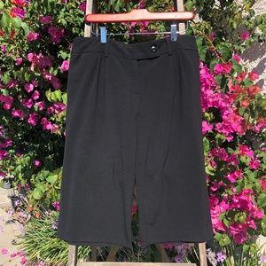 AGB Women's Black Wide Leg Dress City Shorts/Pants